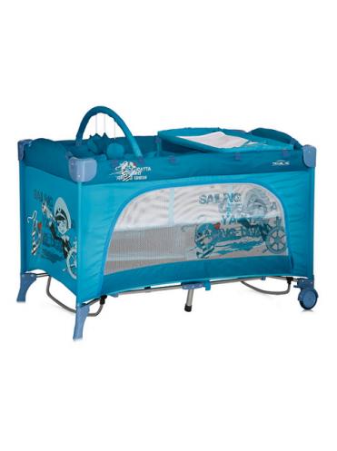 Кровать манеж Bertoni TRAVEL KID 2 Rocker с функцией качания