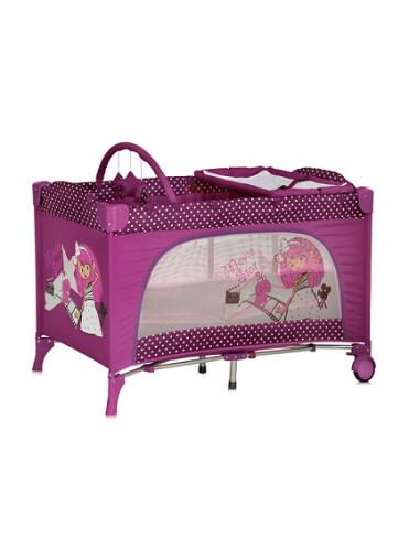 Кровать манеж Bertoni Travel Kid 2 (два уровня)