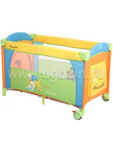 Кровать манеж Capella Sweet Time Family