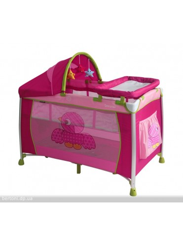 Кровать манеж Bertoni Dreamer 2 уровня плюс