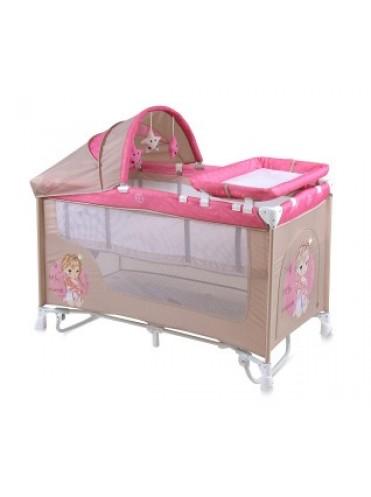 Кровать манеж Bertoni NANNY 2 plus rocker