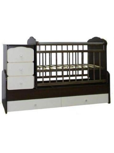Детская кровать трансформер с маятником