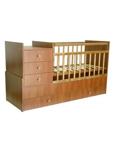 Детская кровать трансформер Фея 1200
