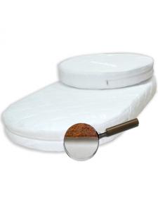 Комплект матрасов (круг+овал) 65*65 см, 65*125 см