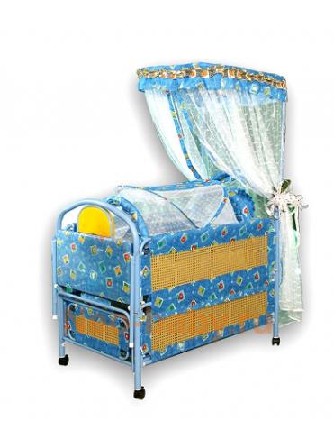 Металлическая детская кроватка Потягушки 218
