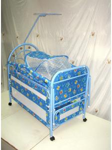 Металлическая детская кроватка Потягушки 220