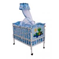 Металлическая детская кроватка раздвижная Avanti