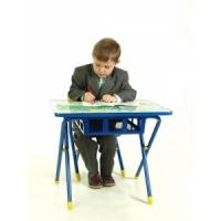 Набор детской мебели Дэми № 2 (синий)