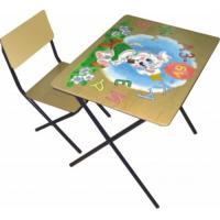 Набор детской мебели ФЕЯ Досуг трафарет (стол+стул)