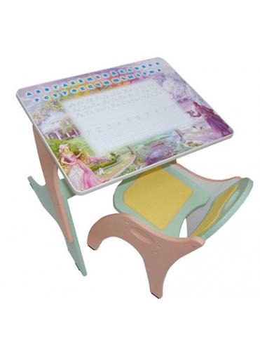 Набор детской мебели Буквы-Цифры регулируемая парта стульчик