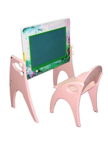 Набор детской мебели Буквы-Цифры парта-мольберт, стульчик
