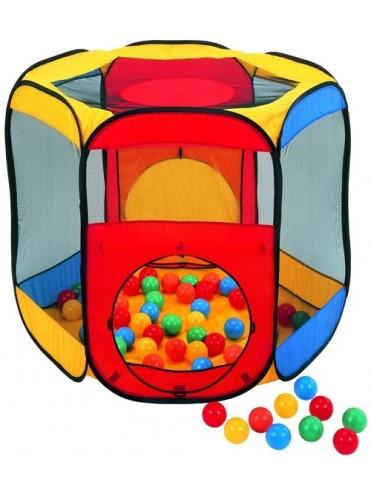 Игровой домик Многоугольник + 100 шаров