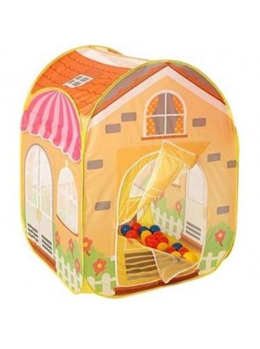 Игровой детский домик Вилла + 100 шаров