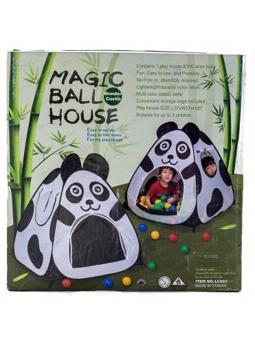 Игровой домик Панда с мячиками LI693