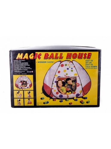 Игровой домик 623 с мячиками 300 штук