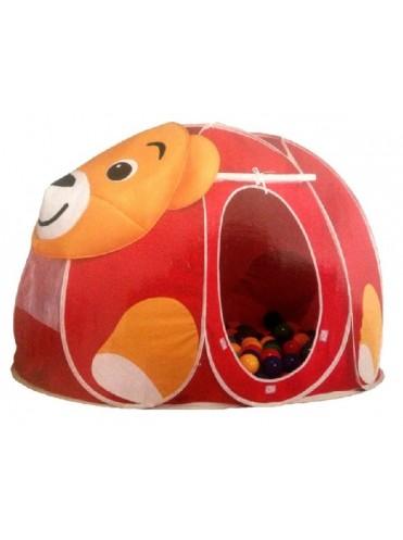 Игровой домик Мишка с мячиками 100 шт.