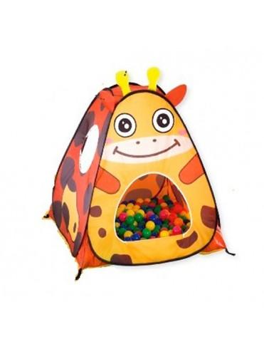 Игровой домик Жираф + 100 шаров