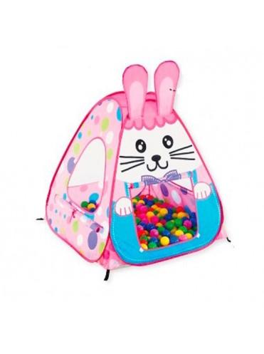 Игровой домик Кролик + 100 шаров