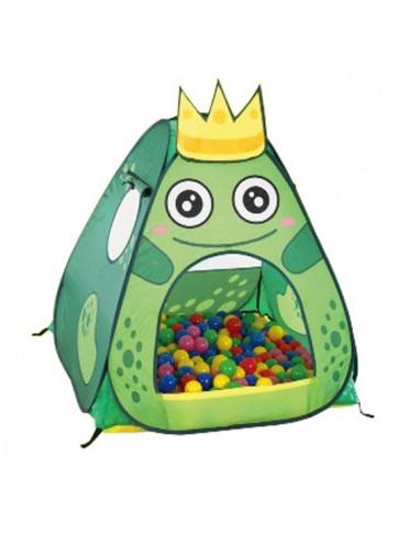 Игровой домик Царевна лягушка + 100 шаров