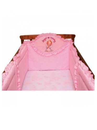 Бортик в детскую кроватку Мальвина