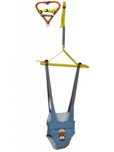 Прыгунки детские СПОРТБЭБИ ВИП с зацепом (прыгунки-тарзанка-качели)