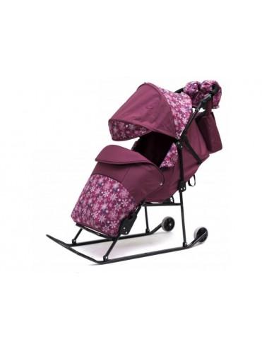 Санки-коляска Зимняя сказка 3В Авто