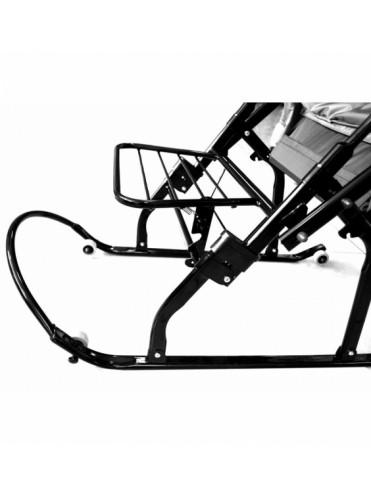 Санки коляска Скользяшки Вьюга-8-С