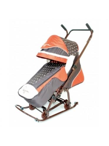 Санки-коляска Скользяшки Мозайка