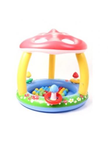 Сухой надувной бассейн Грибок + 50 шаров