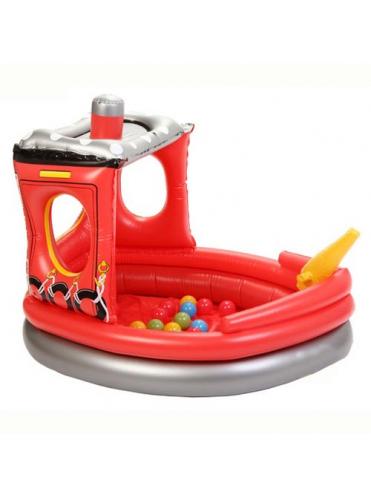 Сухой надувной бассейн Пожарный корабль