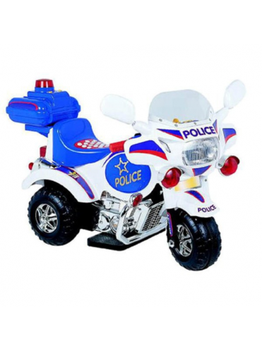 Электромотоцикл детский Капитан Полиции 6V от 2-5 лет