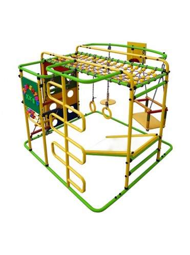 Детский спортивный комплекс Мурзилка-S + подарок мат гимнастический