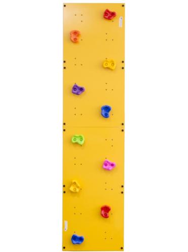 Детский скалодром Эльбрус пристенный 500х2000 без отверстий