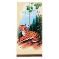 Детский шкаф для детской одежды Рысята