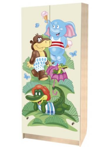 Детский шкаф Зоопарк