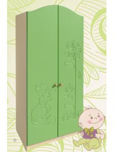 Детский шкаф № 1 фасады МДФ с детский рисунком