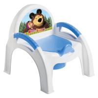Детский горшок-кресло Маша и медведь c13799
