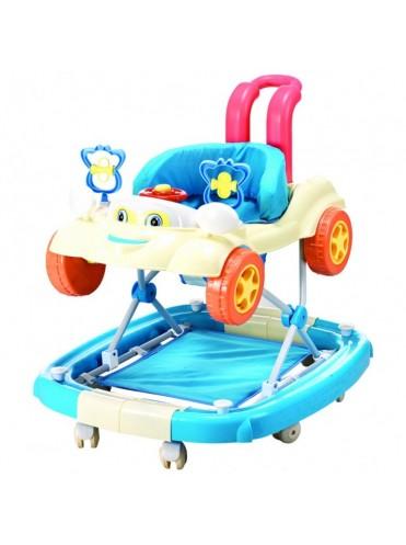 Детские ходунки-качалка Good Child Маленький Водитель 3 в 1