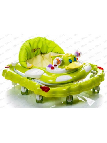 Детские ходунки Stiony DUCK на силиконовых колесах