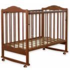 Деревянные кроватки колесо-качалка