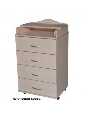 Комод с пеленальным столиком Антел Ульяна-1 ЛДСП 600/4