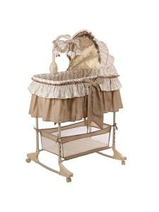 Кроватка-люлька детская Pituso на колесах 4 в 1