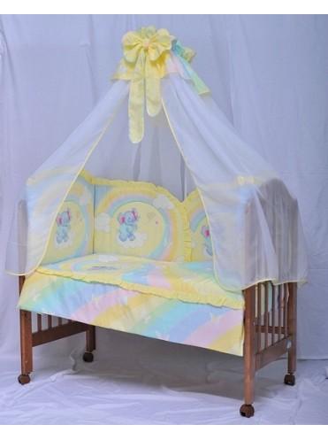 Комплект в кроватку Мама Шила Слоненок 1039 (7 предметов)
