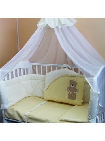 Комплект в кроватку РАЗ РОМАШКА-ДВА РОМАШКА 6 предметов