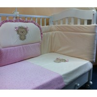 Комплект в детскую кроватку Ежик Васютка 7 предметов