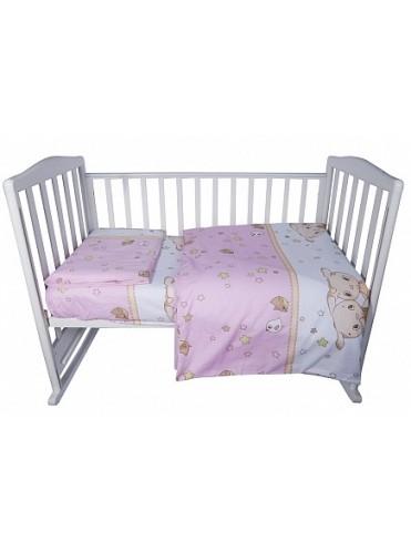 Комплект постельного белья Bambola Друзья бязь 3 пр