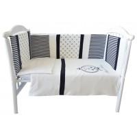 Комплект белья в кроватку Bambola Мой принц интерлок пенье 6 пр