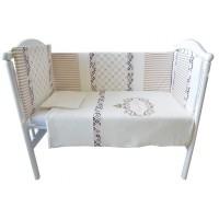 Комплект белья в кроватку Bambola Моя принцесса интерлок пенье 6 пр