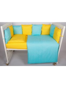 Комплект в кроватку Bambola Мозайка 4 предмета