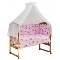 Комплект в кроватку Bambola За медом 7 предметов